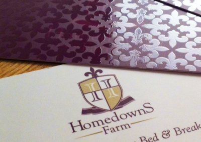 Homedowns Farm – Biz Cards