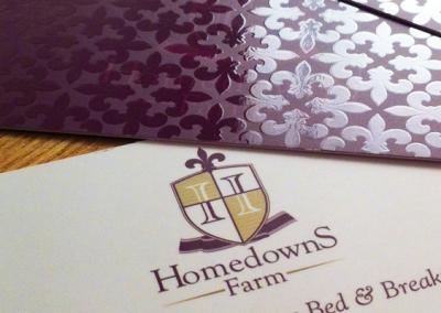 Homedowns Farm – Biz Cards