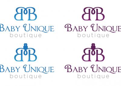 Baby Unique Logo