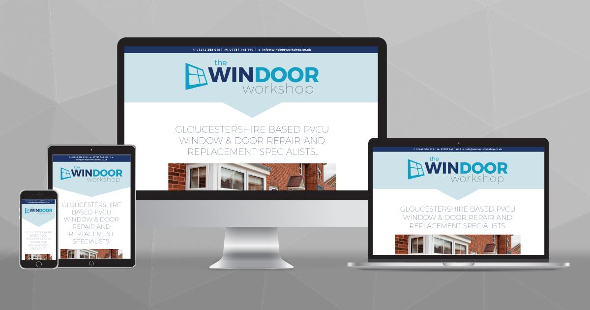 Website design for The WinDoor Workshop